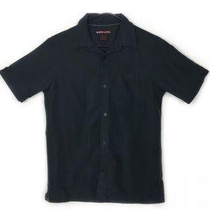 3/$15 Tony Hawk Black Button Down Shirt, Sz Large
